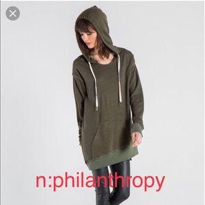 🔥NWT n:philanthropy oversized sweatshirt